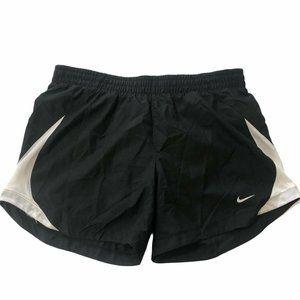 Nike running shorts black white small